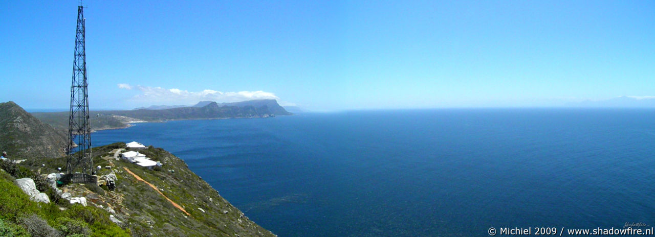 False Bay panorama False Bay, Cape Point, Table Mountain National Park, Cape Peninsula, South Africa, Africa 2011,travel, photography, panoramas