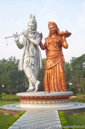 Hindu statues, Route 8, Haryana, India, India 2009,travel, photography,favorites