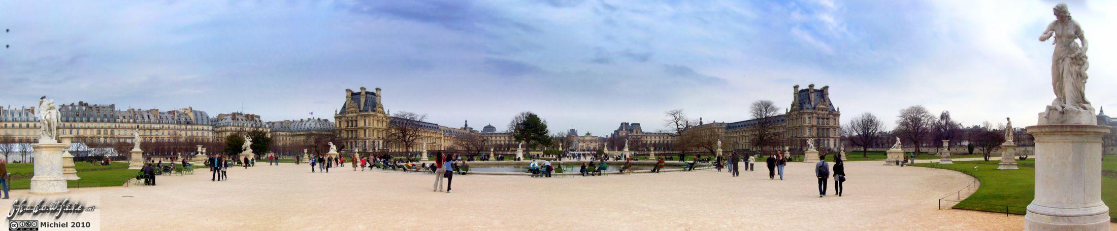 Jardin des tuileries panorama panorama photography world photos - Jardin des tuileries foire ...