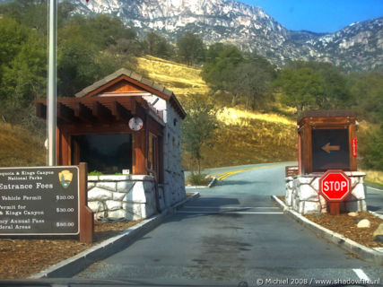 Ash Mountain Entrance, Sequoia NP, California, United States 2008,travel, photography